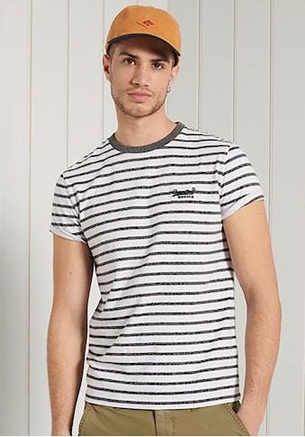 Superdry Rundhalsshirt »OL STRIPE TEE« kaufen