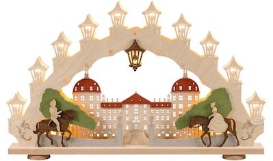 Weigla LED Schwibbogen »Moritzburg«, 1 tlg., 15-flammig, mit 3D-Effekt kaufen