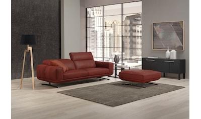 Egoitaliano 2,5-Sitzer »Gloria«, Beidseitig verstellbare Rückenelemente, mit Metallfüßen kaufen