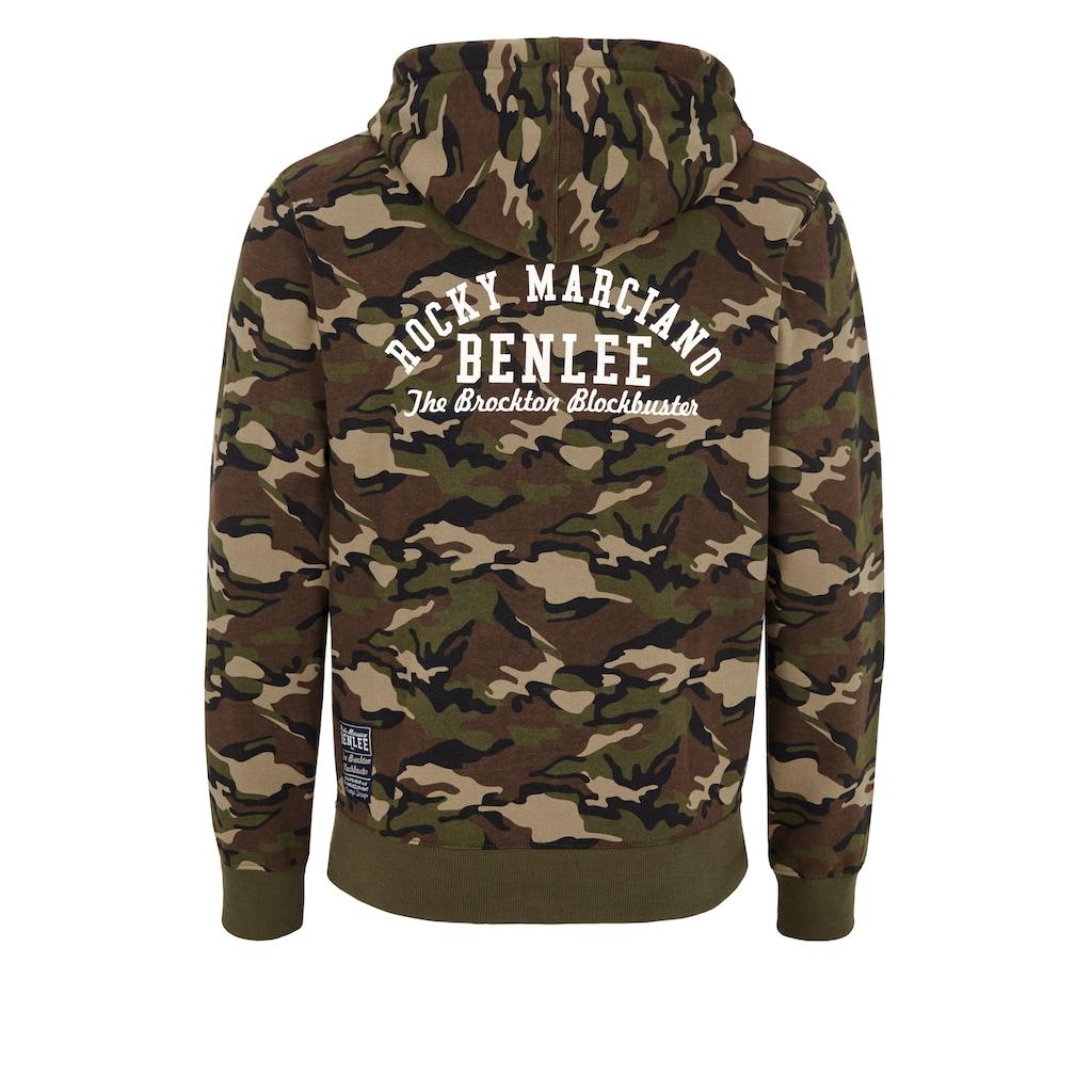 Benlee Rocky Marciano Sweatjacke im Military-Look