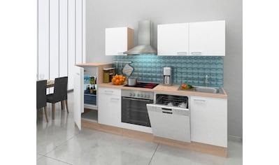 RESPEKTA Küchenzeile, mit E-Geräten, Breite 280 cm kaufen
