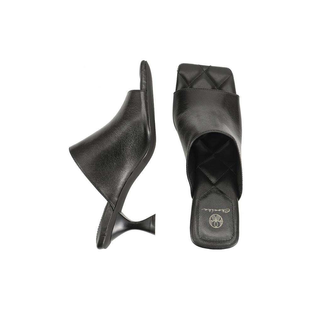 ekonika Pantolette, hergestellt aus echtem Leder