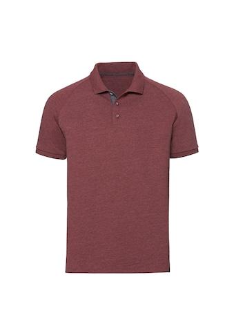 Russell Poloshirt »Herren HD Raglan Jersey Polo Shirt« kaufen
