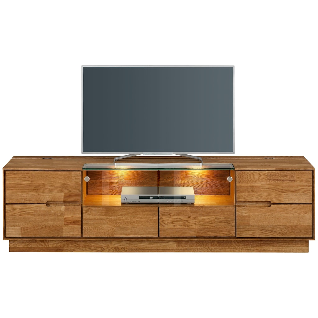 Premium collection by Home affaire TV-Board »Pavo«, 2-türig, inklusive LED Beleuchtung