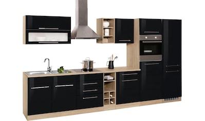 HELD MÖBEL Küchenzeile »Eton«, mit E-Geräten, Breite 360 cm kaufen