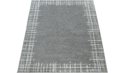 Paco Home Teppich »Stella 519«, rechteckig, 17 mm Höhe, Kurzflor mit Bordüre, Wohnzimmer kaufen