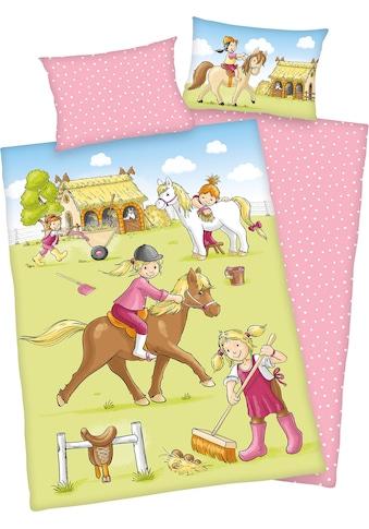 Baby Best Babybettwäsche »Ponyhof«, mit kindlichem Motiv kaufen