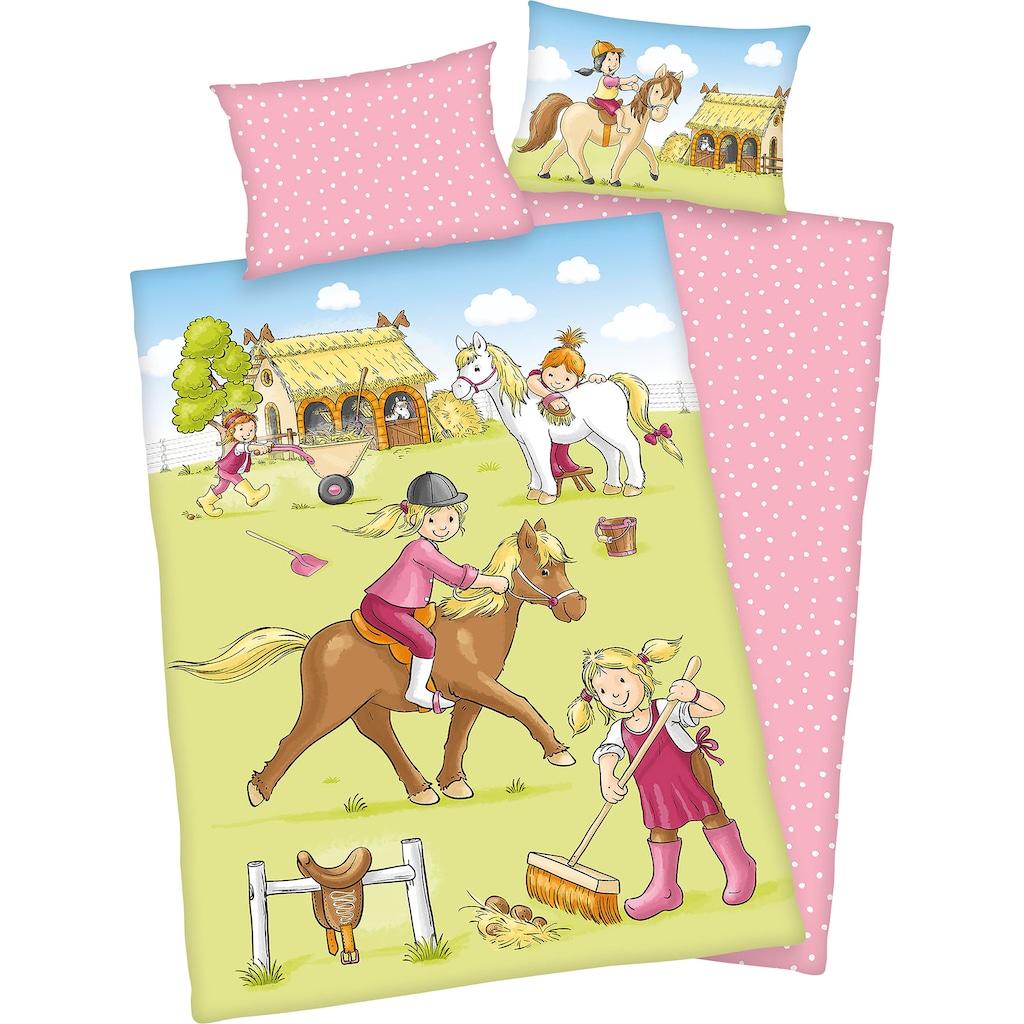 Baby Best Babybettwäsche »Ponyhof«, mit kindlichem Motiv