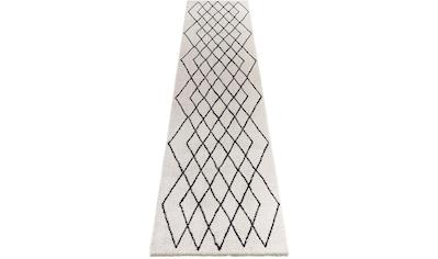 Hochflor - Läufer, »Bron«, ELLE Decor, rechteckig, Höhe 32 mm, maschinell gewebt kaufen