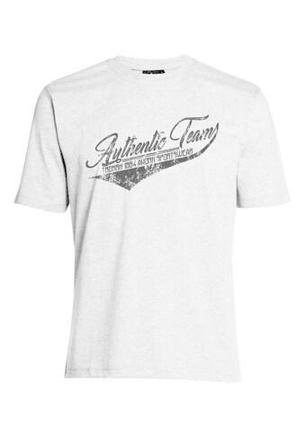 AHORN SPORTSWEAR T - Shirt mit coolem Front - Print kaufen