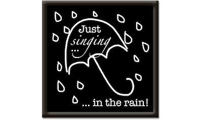 Artland Wandbild »Singen im Regen« kaufen