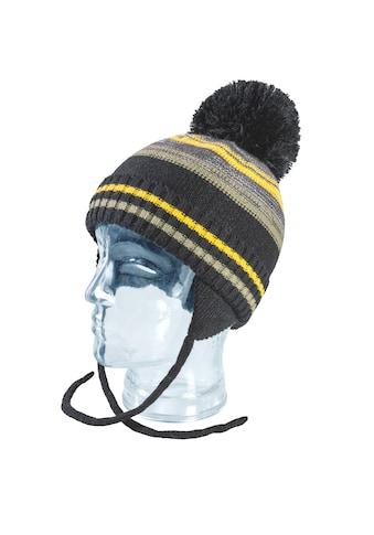 Chaplino Bommelmütze, mit praktischen Ohrenklappen kaufen