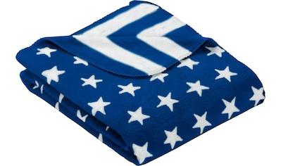 Gold-Line Wohndecke »Stars & Stripes«, in Stern- und Streifenoptik kaufen