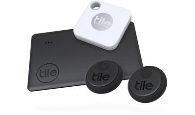 tile Schlüssel - /Bluetooth - Tracker »Essentials (4 - pack) (Slim 2, Mate+, 2x Sticker)« kaufen