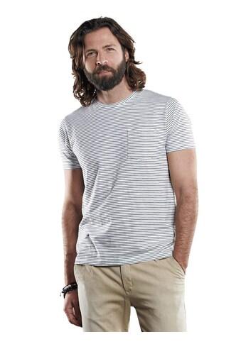 emilio adani T - Shirt mit Slub - Effekt kaufen