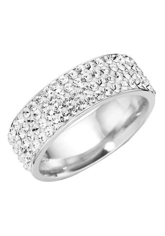 Firetti Silberring »rhodiniert, massiv, glamourös« kaufen