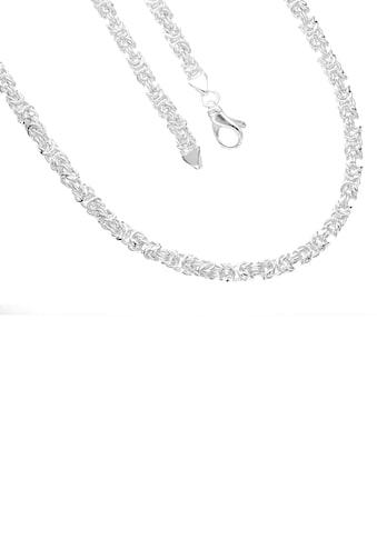 Firetti Königskette »4-fach diamaniert, poliert, quadratisch« kaufen