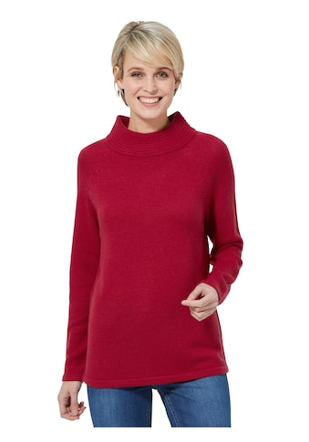 Classic Basics Pullover mit langen Raglan - Ärmeln kaufen