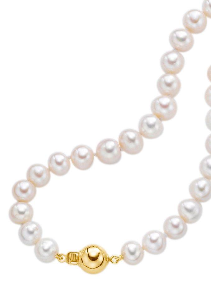 Firetti Perlenkette Collier | Schmuck | Goldfarben | Firetti
