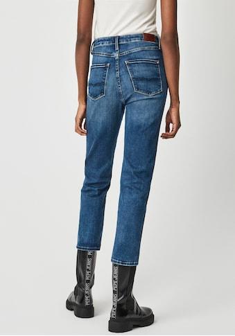 Pepe Jeans Mom-Jeans »DION 7/8«, Slim Passform mit hohem Bund und 7/8 Beinlänge in... kaufen