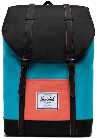 Herschel Laptoprucksack »Retreat, Blue Bird« kaufen