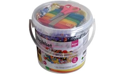 Knorrtoys® Kreativset »Bastelset Eimer (750tlg.)«, (Set), Leicht zu transportieren kaufen