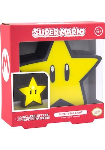 Paladone Dekolicht »Super Mario Super Star Leuchte mit Sound« kaufen