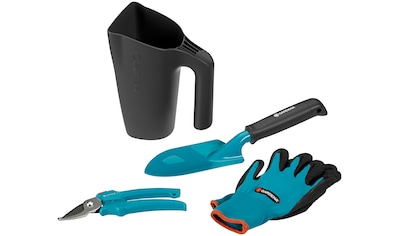 GARDENA Gartenpflege - Set 3 Kleingeräte mit Handschuhen kaufen