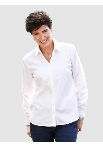 Paola Bluse mit klassischem Hemdkragen kaufen