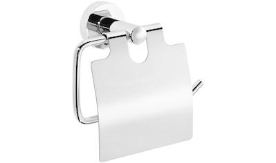NIE WIEDER BOHREN Toilettenpapierhalter »Base«, mit Deckel kaufen