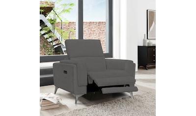 Places of Style Sessel »Wyoming«, Elektrische Relaxfunktion, USB-Anschluss, manuelle Kopfteilverstellung kaufen
