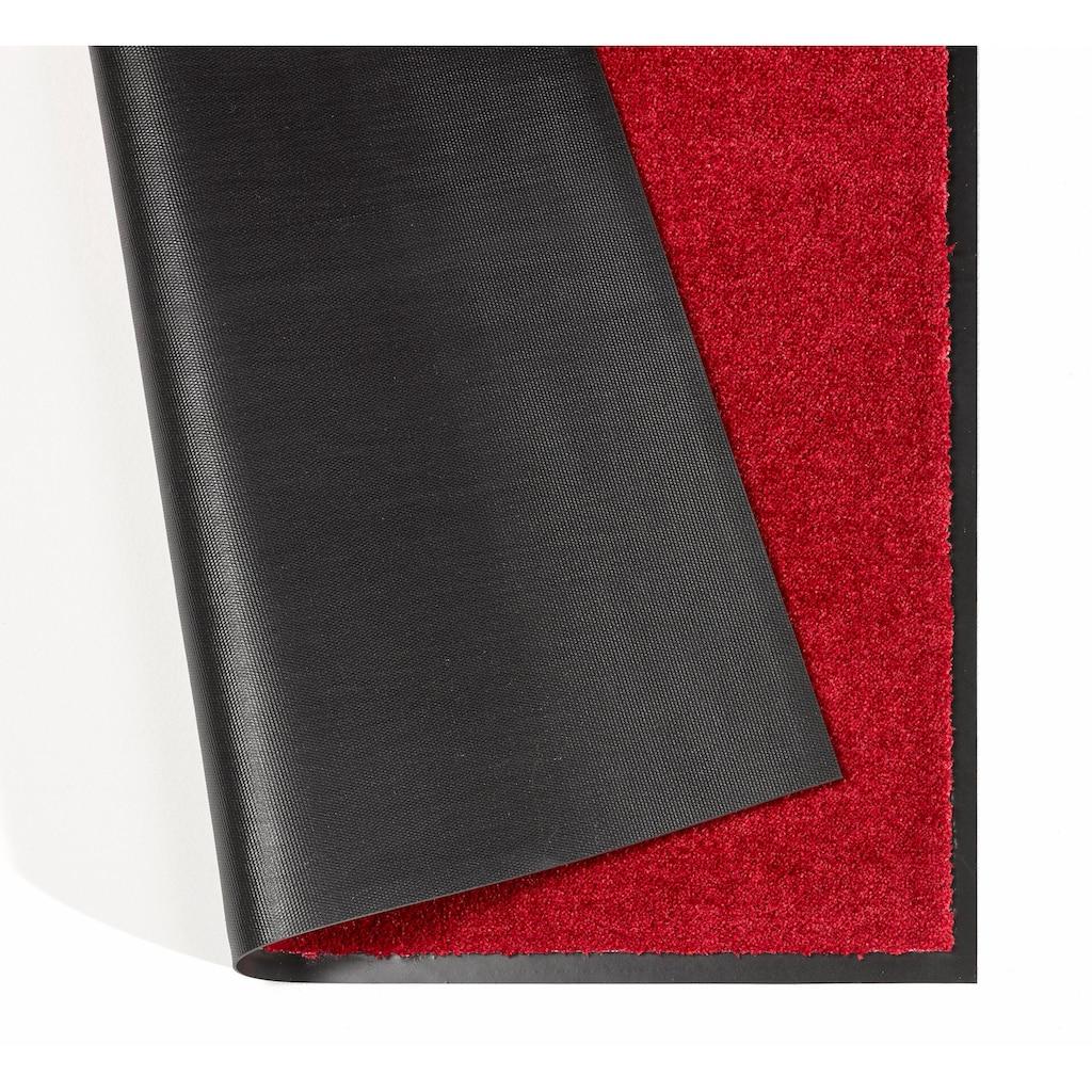 HANSE Home Teppich »Deko Soft«, rechteckig, 7 mm Höhe, Schmutzfangmatte, rutschhemmend, waschbar, Wohnzimmer