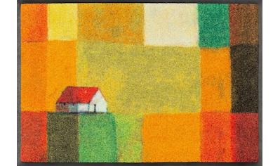 wash+dry by Kleen-Tex Fußmatte »Meadow Lands«, rechteckig, 7 mm Höhe,... kaufen