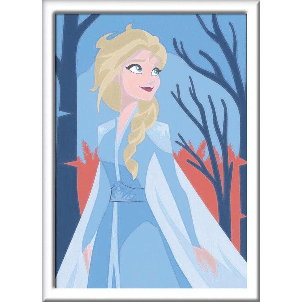 Ravensburger Malen nach Zahlen »Disney Frozen II, Elsa«, Made in Europe, FSC® - schützt Wald - weltweit