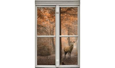 queence Wandsticker »Hirsch« kaufen