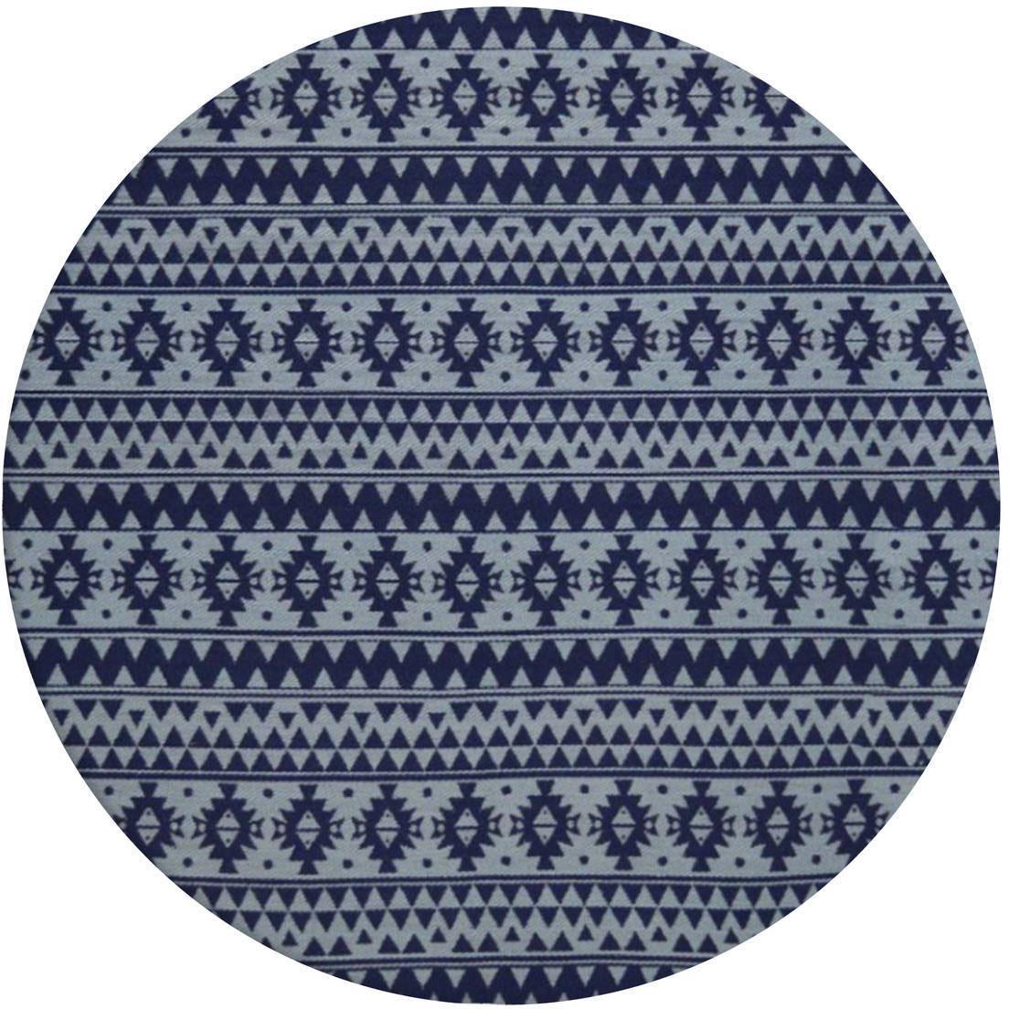 Teppich Sunny 210 Kayoom rund Höhe 5 mm handgewebt