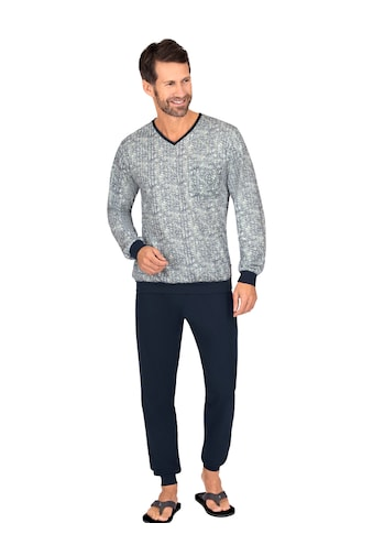 Trigema Pyjama, mit modischem Muster kaufen