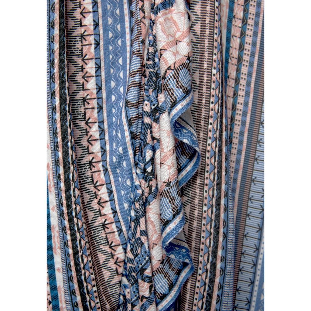 LASCANA Maxikleid, mit Bändern im Rücken