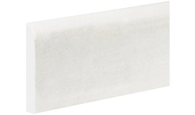 Bodenmeister Sockelleiste »Biegeleiste Oberkante abgerudet weiß«, flexibel, biegbar kaufen