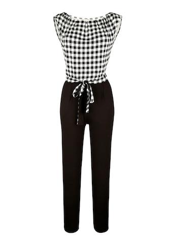 Alba Moda Overall mit Vichykaro kaufen
