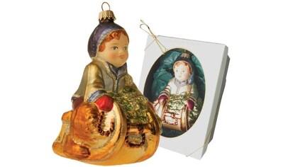 """Krebs Glas Lauscha Christbaumschmuck """"Junge auf Schlitten"""" (1 - teilig) kaufen"""