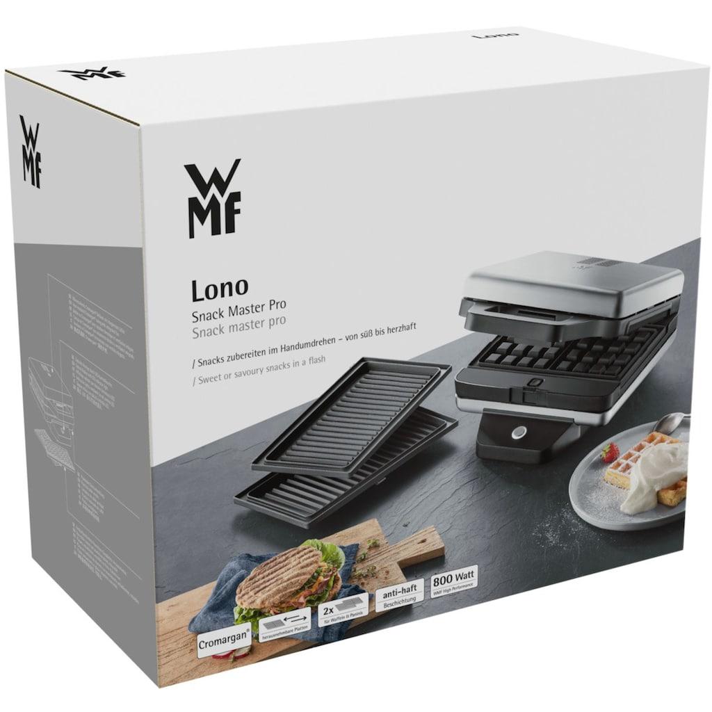 WMF Waffeleisen »LONO Snack Master Pro«, 870 W