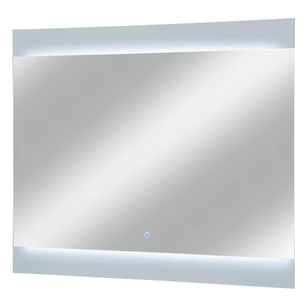 FACKELMANN Badspiegel »Piuro«, mit LED-Belecuhtung, Breite 80 cm