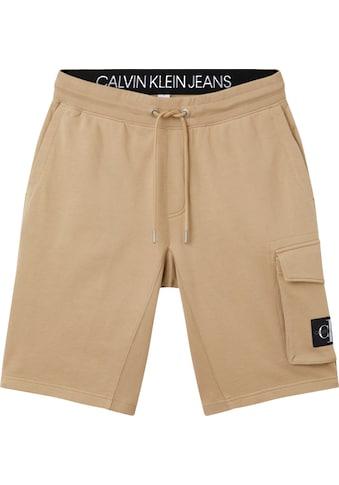 Calvin Klein Jeans Sweatshorts »MONOGRAM PATCH HWK SHORT« kaufen