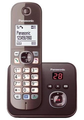 Panasonic »KX - TG6821G« Schnurloses DECT - Telefon (Mobilteile: 1) kaufen