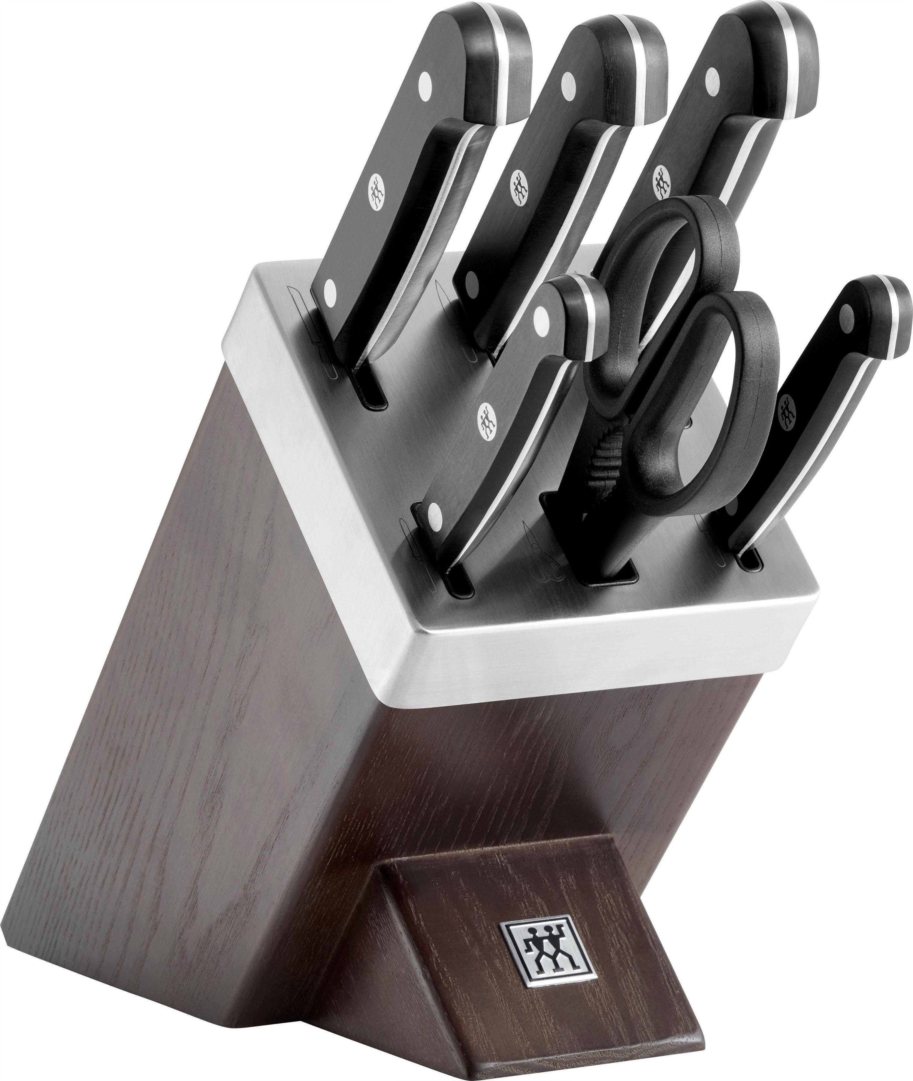 Zwilling Messerblock Gourmet (7tlg) Wohnen/Haushalt/Haushaltswaren/Besteck & Messer/Küchenmesser-Sets/Messerblöcke