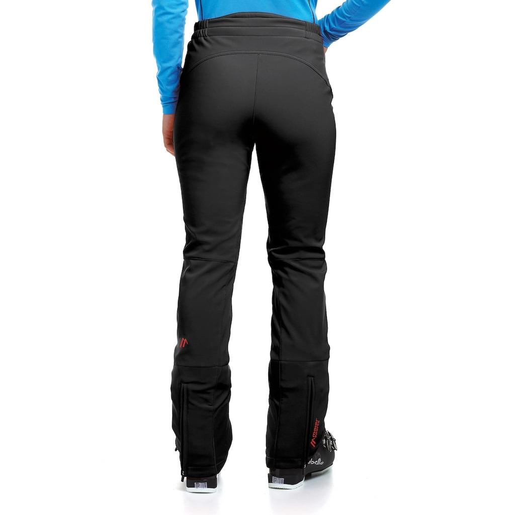 Maier Sports Skihose »Marie«, Slim fit, Softshell, elastisch, winddicht