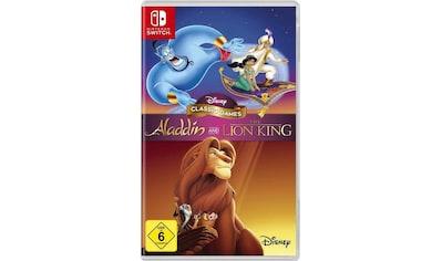 Disney Spiel »Aladdin and The Lion King«, Nintendo Switch kaufen