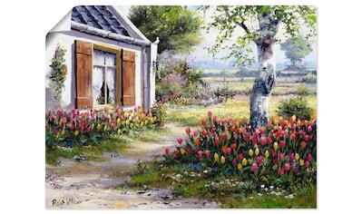 Artland Wandbild »Ein bunter Garten« kaufen