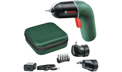 BOSCH Akku-Schrauber »IXO 6 Set«, Volle Kontrolle für sorgloses Arbeiten intuitive Handhabung während des kompletten Schraubvorgangs kaufen